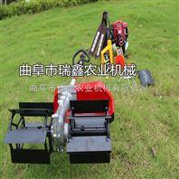锄草松土机操作视频 农用背负式除草机 充电式割草机