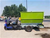 柴油撒料机型号 电机带动饲料撒料机厂家