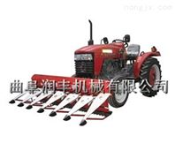 收割割晒机型号 拖拉机带动的秸秆割草机