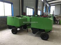 牵引式收集水稻秸秆打捆机