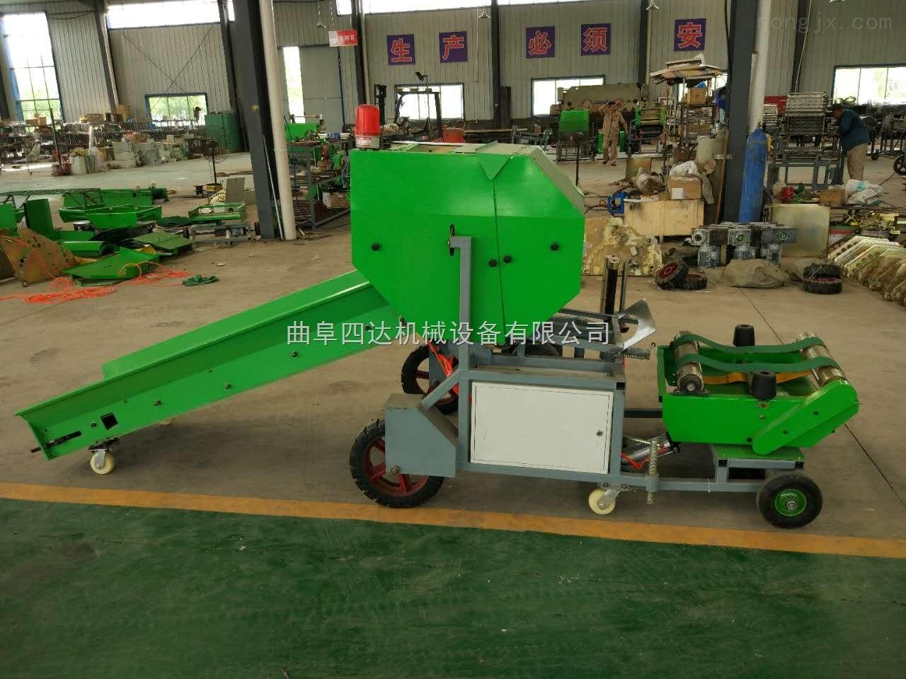 小型全自动玉米秸秆打包机生产定制