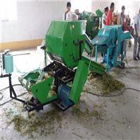 鮮草青貯打包機 秸稈打捆包膜機價格