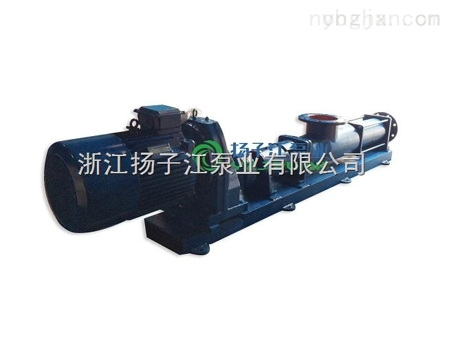G50-1不锈钢单螺杆浓浆泵/耐腐蚀浓浆输送泵/清淤泥专用卧式泥浆泵