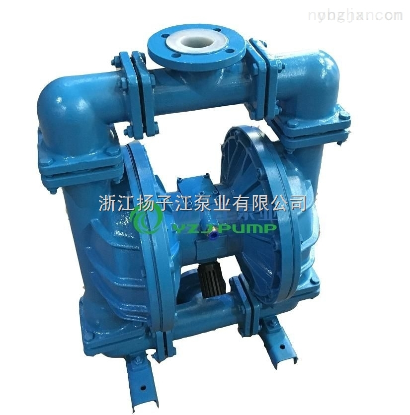 QBY-65铸铁铝合金不锈钢塑料材质气动隔膜泵 油漆泵 压滤机专用泵