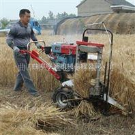 直销自走式辽宁大豆水稻收割打捆一体机图片价格