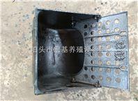 大猪挡板食槽球墨铸铁材质食槽养猪设备厂家冯平出售