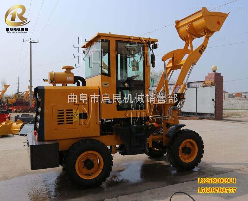 天峻县 工程专用铲车 启民小型挖掘机装载机