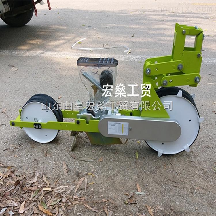 白菜播种机 拖拉机牵引式蔬菜精播机