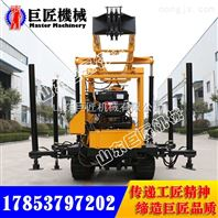 巨匠直销XYX-200轮式水井钻机  200米勘探钻机质量可靠