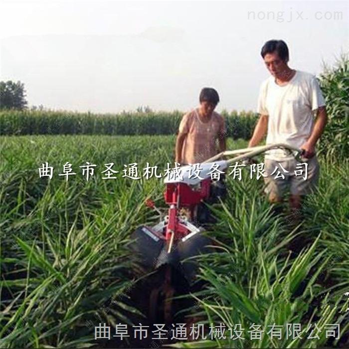 鹤壁自走式开沟机 甘蔗垄间偏培土机