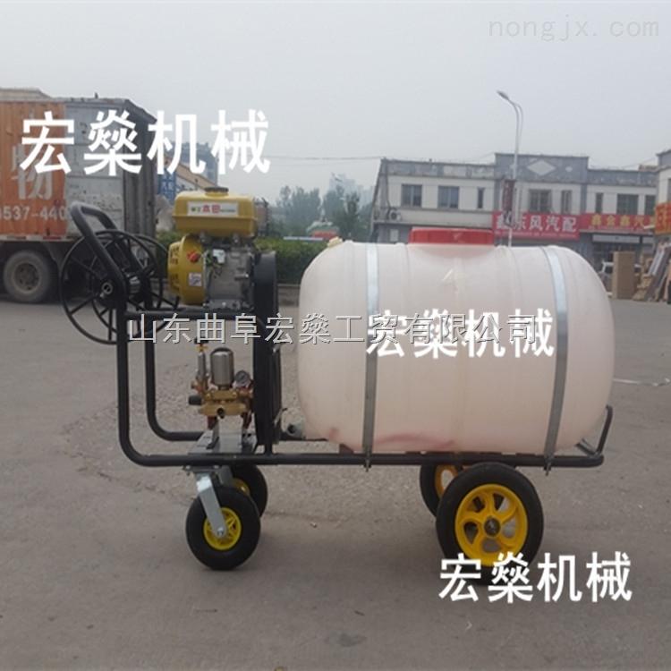 拉管式喷雾机 手推式高压打药机 小麦玉米喷药机