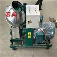 时产600-800公斤平模饲料颗粒机 秸秆制粒机