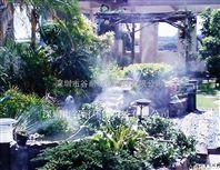 广州市中心商业街人造雾设备安装