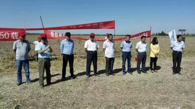 """东方红新疆奇台演示会刮起""""红色风暴"""""""