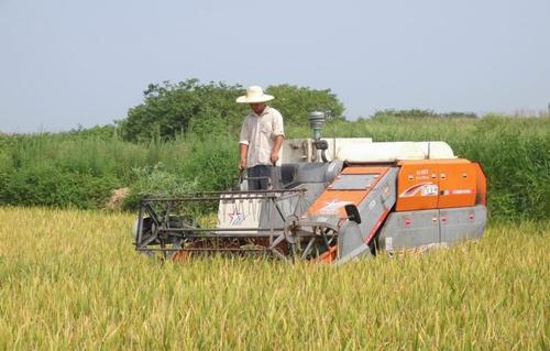 我是一滴油,愿为农机化工作添动力