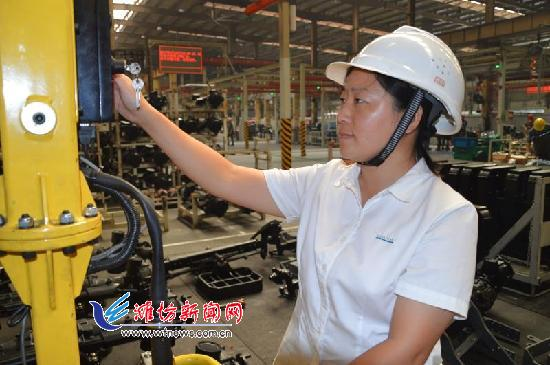 【能工巧匠】重工机械行业的女中豪杰