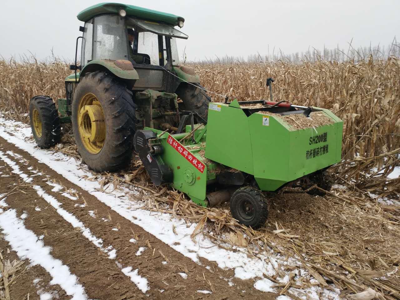 stf50-80 玉米秸秆回收打捆机 黄储秸秆粉碎打捆机