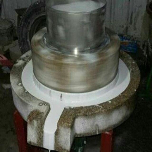mf-106 小型家用石磨磨面机  小型家用石磨磨面机 电动石盘式石磨使用