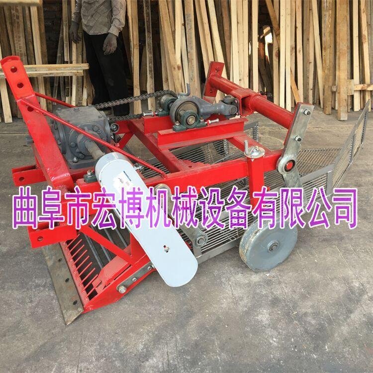 1.2 新款链条式花生收获机花生收获机视频 供应信息 商机 中国农机网
