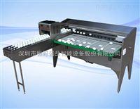 深圳振野5400枚小型自动鸡蛋皮蛋喷码分级机